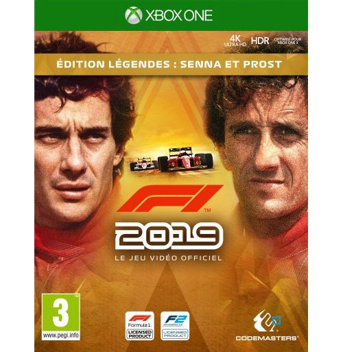 F1 2019 Edition Légendes Xbox One