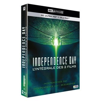 Independence DayCoffret Independence Day Edition spéciale Fnac  Blu-ray 4K Ultra HD