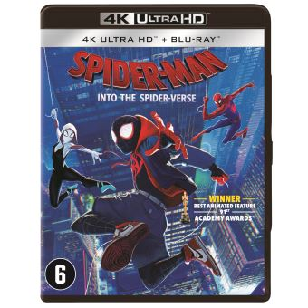 SPIDER-MAN:INTO THE SPIDER-VERSE-BIL-BLURAY 4K