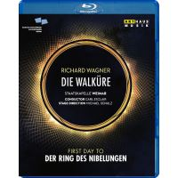 La Walkyrie Théâtre national allemand 2008 Blu-ray