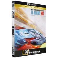 Le Mans 66 Steelbook Edition Spéciale Fnac Blu-ray 4K Ultra HD