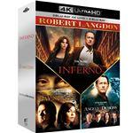 Coffret Robert Langdon Blu-ray 4K Ultra HD