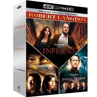 Da Vinci CodeCoffret Robert Langdon Blu-ray 4K Ultra HD