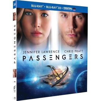 Passengers Combo Blu-ray 3D + 2D