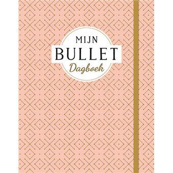 Mijn bullet dagboek (oudroze)