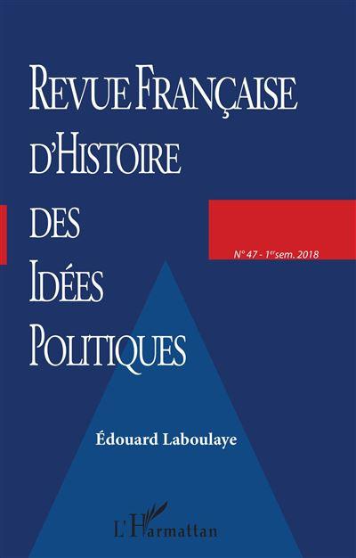 Revue Français Histoire Idées Politiques