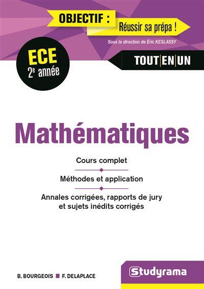 Mathématiques 2e annéeE ECE tout-en-un