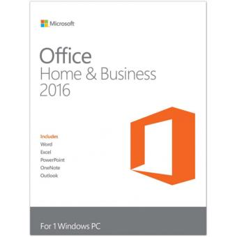 MICROSOFT OFFICE HOME AND BUSINESS 2016 WIN UK KEY