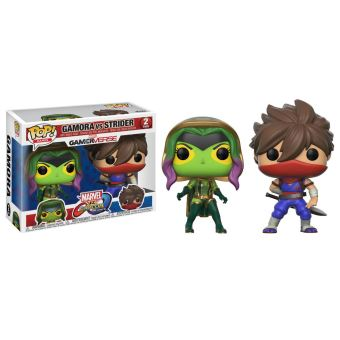 MARVEL VS CAPCOM-2-PACK-GAMORA VS STRIDER