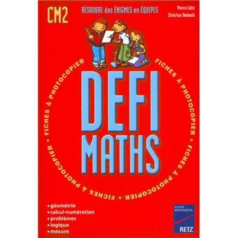 Défi Maths CM2