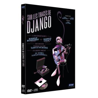 DJANGO REINHARDT, SUR LES TRACES DE DJANGO -DVD + CD-FR