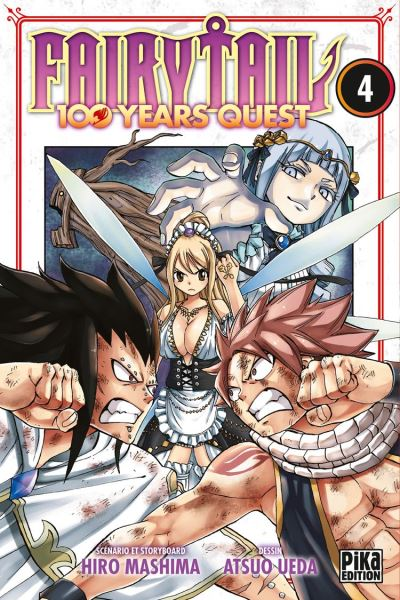 Fairy Tail - 100 Years Quest T04 - 9782811652777 - 4,49 €
