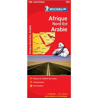 Cn 745 afriq nord-est,arabie