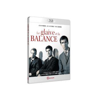 Le glaive et la balance Blu-ray