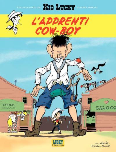 Les aventures de Kid Lucky d'après Morris - Tome 1 - L'apprenti Cow-boy d'Achdé
