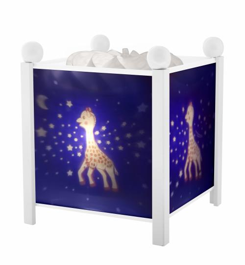 Lanterne Magique Sophie la Girafe Voie Lactée Trousselier Blanc 12V