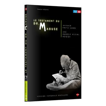 Dr. MabuseLe testament du docteur Mabuse Combo Blu-ray DVD