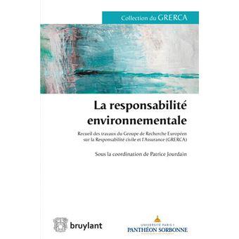 La responsabilité environnementale