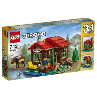 lego creator 31048 la cabane au bord du lac lego achat prix fnac. Black Bedroom Furniture Sets. Home Design Ideas