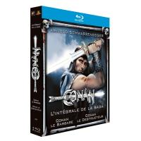 Conan le barbare - Conan le destructeur - Coffret Blu-Ray