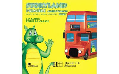 Storyland Anglais Cycle 3 - CD audio 1re année - Ed.2007