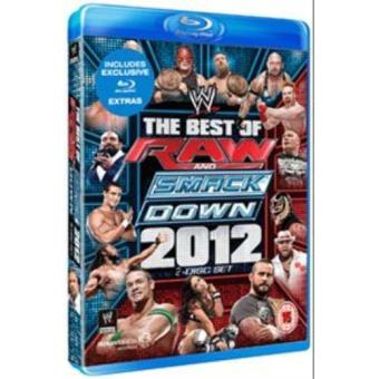 WWE The Best of Raw and Smackdown 2012 Blu-ray