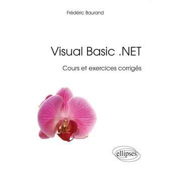 Visual basic, cours et exercices corrigés