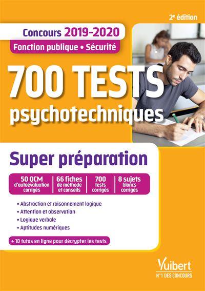700 tests psychotechniques - Super préparation