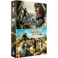 Jack, le chasseurs de géants - Voyage au centre de la Terre 2 Coffret 2 DVD