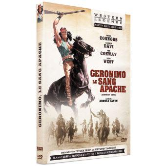 Géronimo le sang Apache DVD