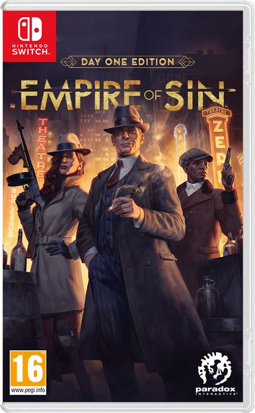 Empire of Sin Day One Edition Nintendo Switch