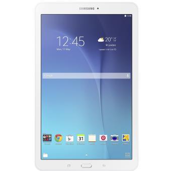 tablette samsung galaxy tab e 9 6 39 39 8 go wifi blanc tablette tactile achat prix fnac. Black Bedroom Furniture Sets. Home Design Ideas