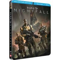 Halo : Nightfall Steelbook Edition Collector Combo Blu-ray DVD
