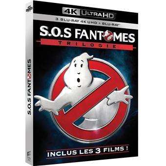 S.O.S. FantômesCoffret S.O.S Fantômes Trilogie Blu-ray 4K Ultra HD
