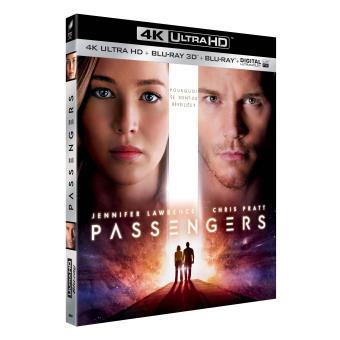Passengers Blu-ray 4K Ultra HD