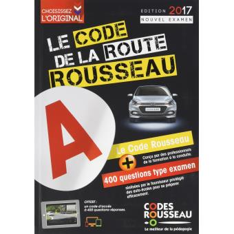 code rousseau de la route b 2017 edition 2017 broch collectif achat livre achat prix. Black Bedroom Furniture Sets. Home Design Ideas