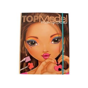Album de coloriage cr atif top model make up studio - Album de coloriage top model ...