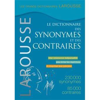 Dictionnaire des synonymes et des