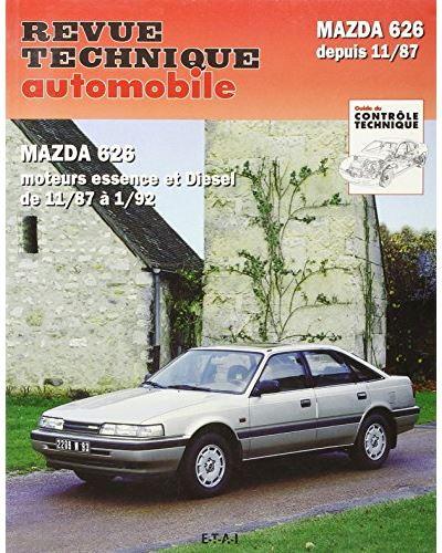Revue technique automobile 528.2 Mazda 626 essence et Diesel (88-91)
