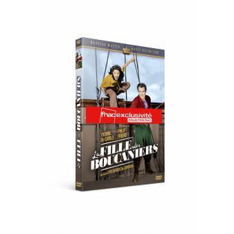 La fille des boucaniers Edition Fourreau DVD