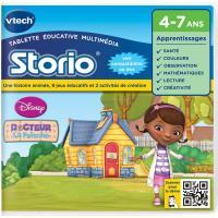 Jeu pour tablette HD Storio Vtech Docteur la peluche