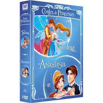 Coffret Contes de princesses Version 2015 2 films DVD
