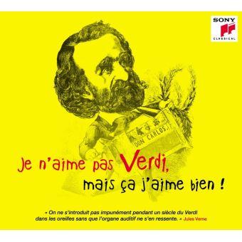 Je n'aime pas Verdi mais ça j'aime bien Digipack