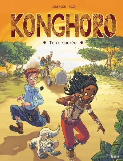 Konghoro - tome 1 Terre sacrée