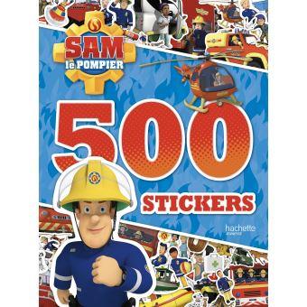 Sam le pompier500 stickers