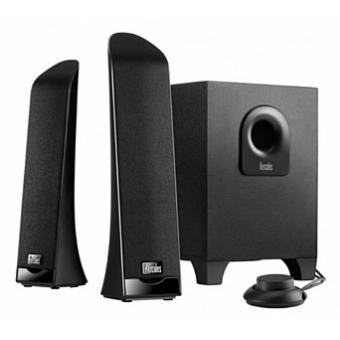 Hercules XPS 2.1 Slim - luidsprekersysteem - voor PC