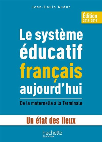 Le système éducatif français aujourd'hui - 9782017059370 - 14,99 €