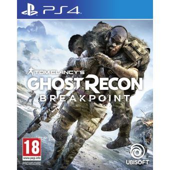 TOM CLANCY'S GHOST RECON : BREAKPOINT FR/NL PS4
