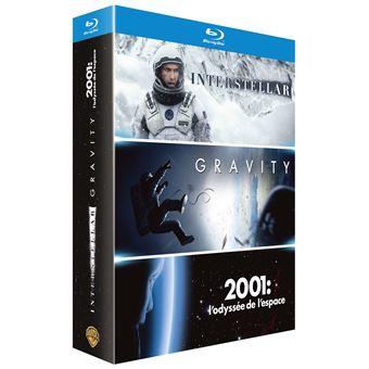 Coffret Espace 3 films Blu-ray