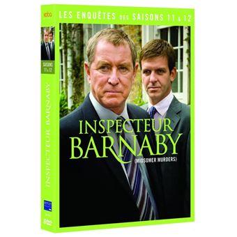 Inspecteur BarnabyCoffret Inspecteur Barnaby Saisons 11 et 12 DVD
